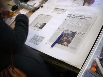 Revue de Presse (photo Jules Aimé)