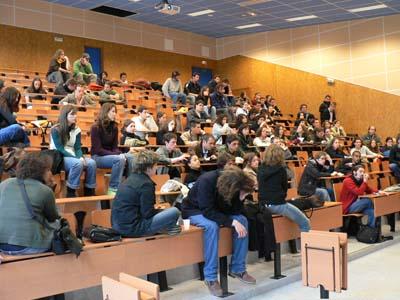 Coordination en fac de lettres et langues